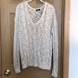Urban outfitters cream knit sweater.